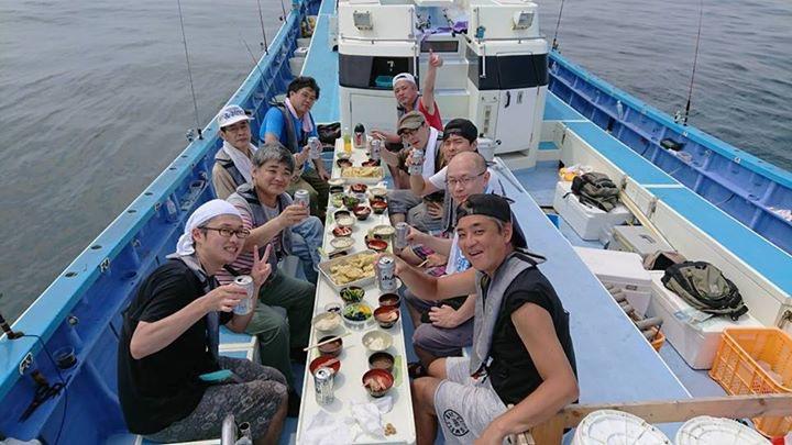 シロギスの天ぷら船