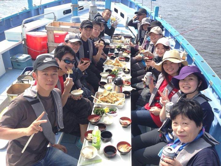 本日はシロギスの天ぷら船でした!